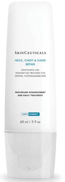 SkinCeuticals neck chest hair