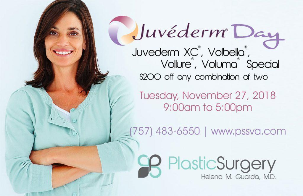 Juvederm Day Noember 27th, 2018