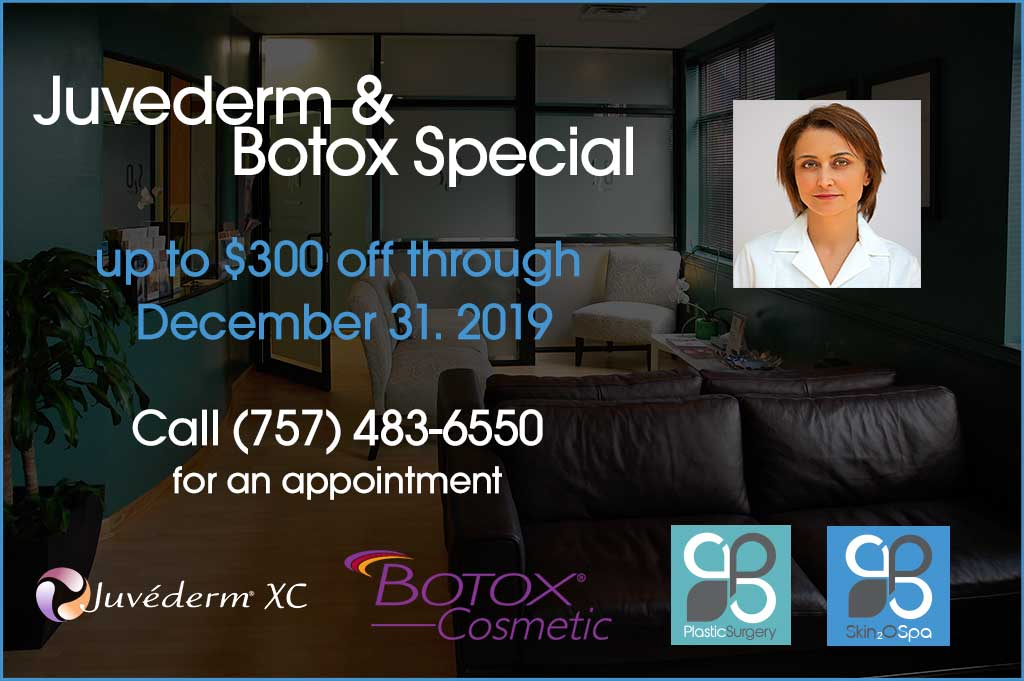 Juvederm + Botox Special December 2019